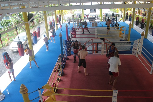 Joining a Muay Thai Camp for Training