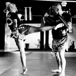Professional Muay Thai and MMA training