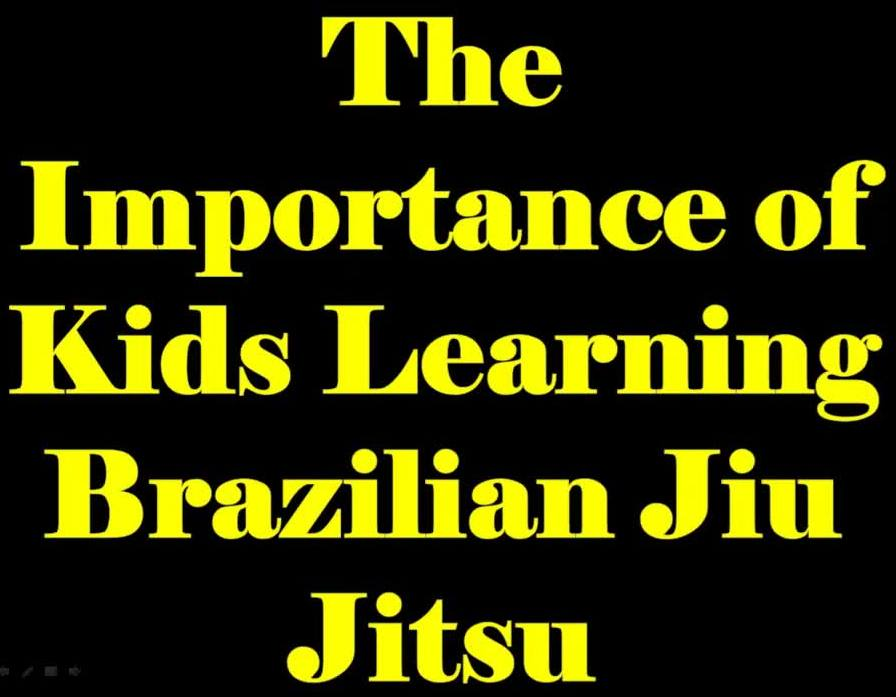 The Importance of Kids Learning Brazilian Jiu Jitsu