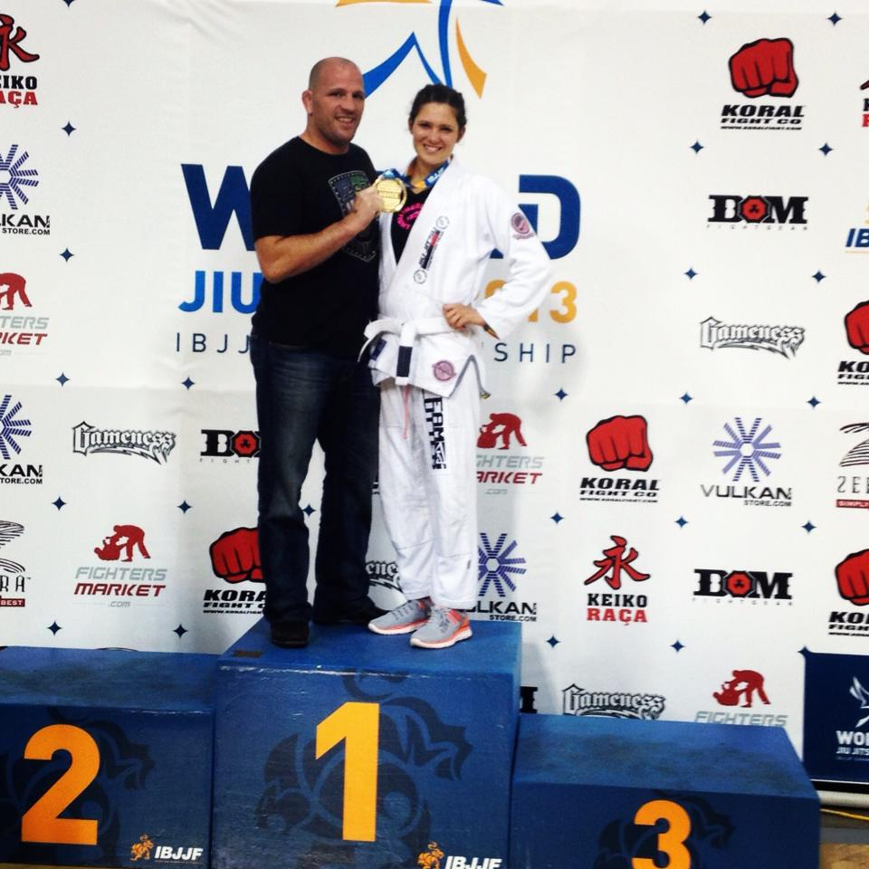 Team Lutter First Ever IBJJF World Champion!